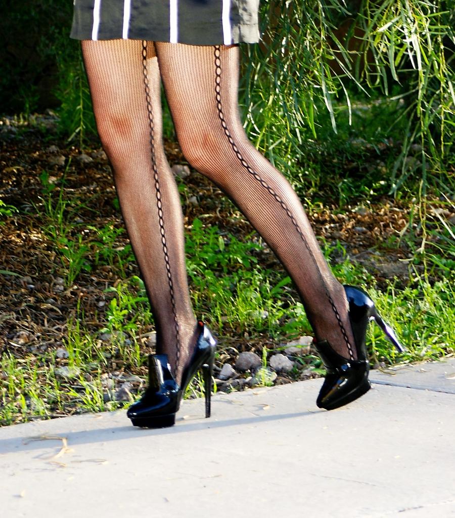 Leggings and Pumps