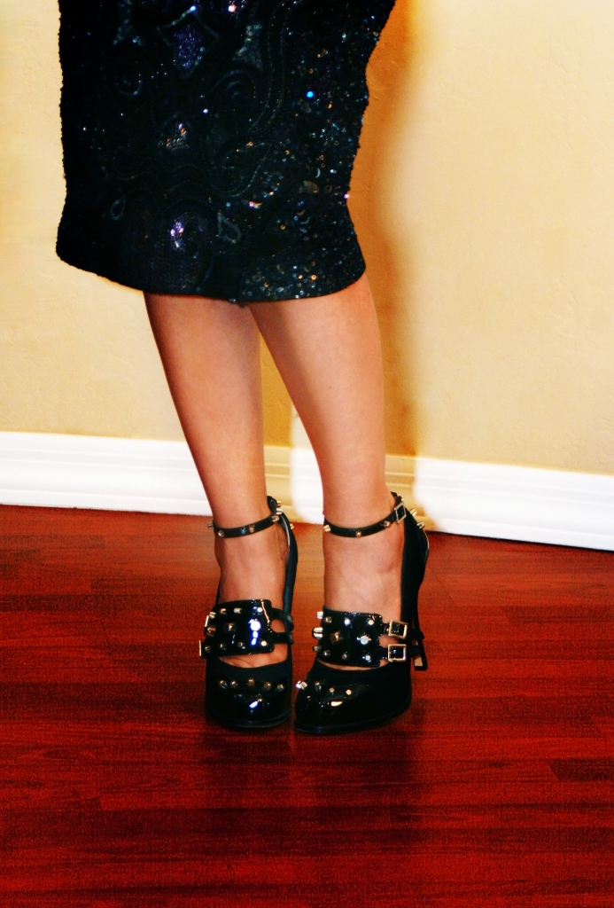 Studs on Pumps