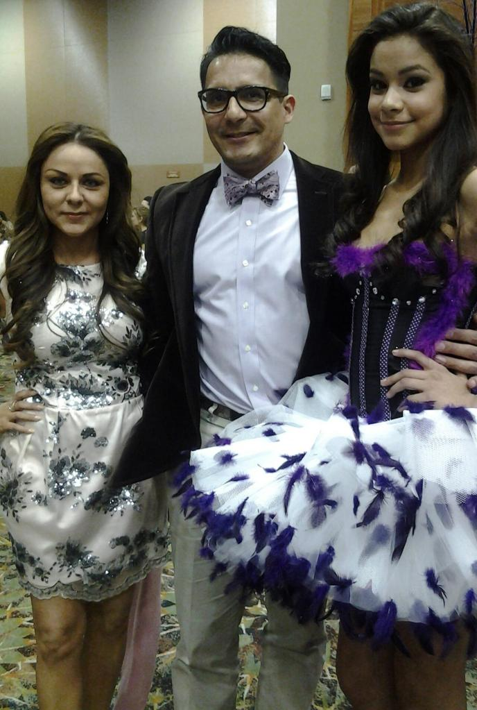 Quince EXPO in Phoenix Arizona 2013 with upcoming runway & editorial model Ms. Nash Vidrio