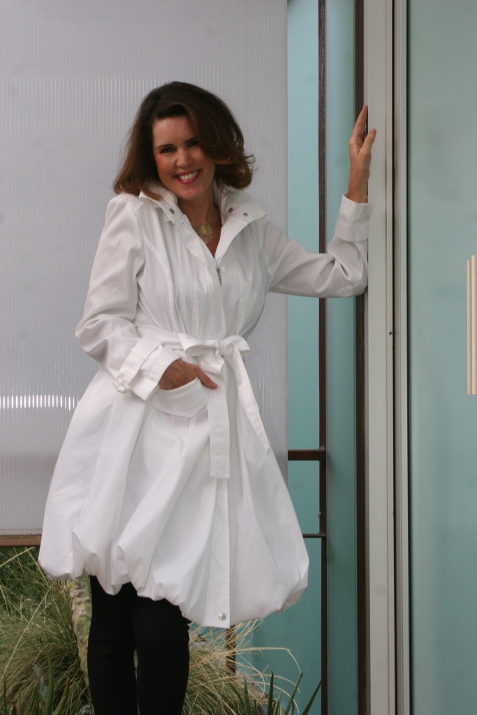 Entry Door with White Coat