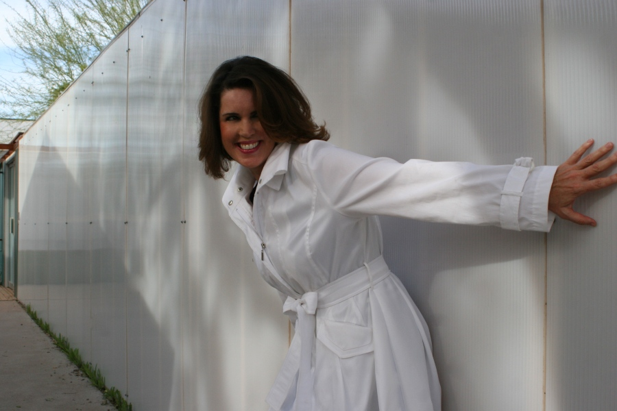Outdoor with White Coat