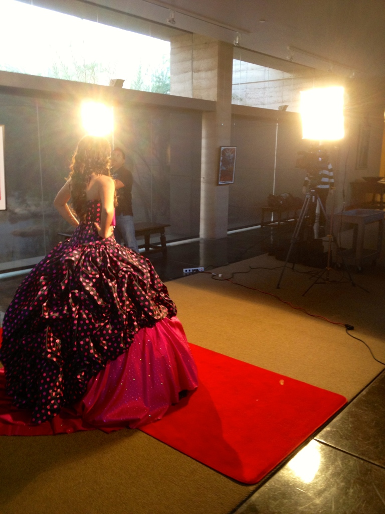 Filiming Quinceañeras Designs