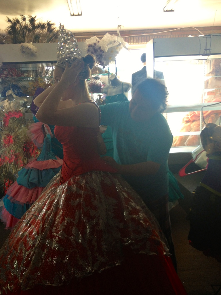 Fitting the Dress for the Finale