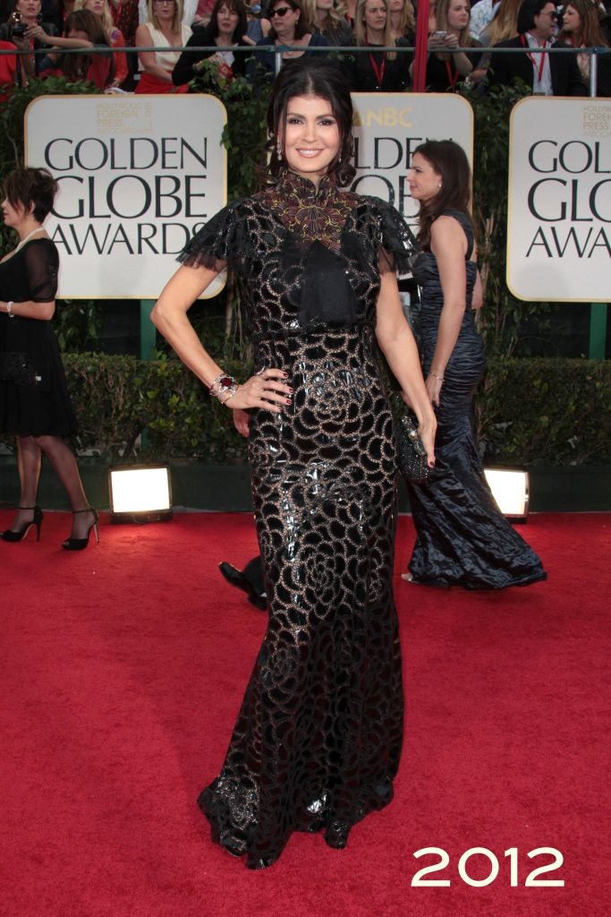 Ms. Micheline Etkin at the 69th Annual Golden Globes Awards 2011