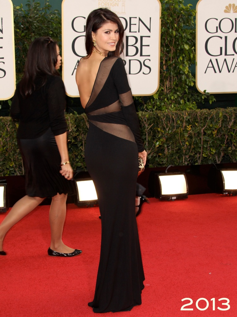 Ms. Micheline Etkin at the 70th Annual Golden Globes Awards 2013