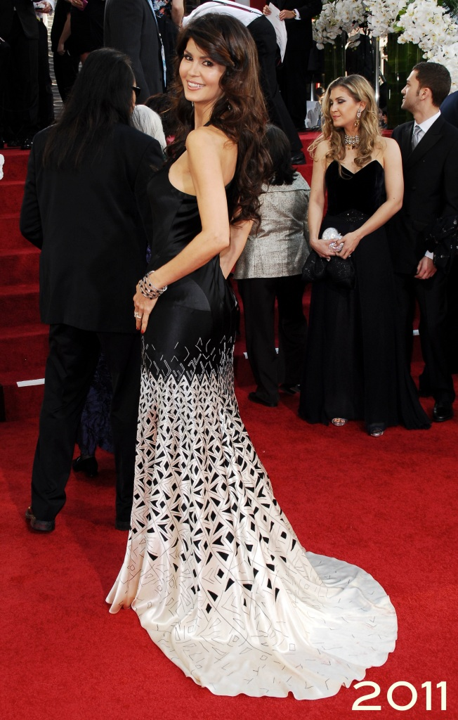 Ms. Micheline Etkin at the 68th Annual Golden Globes Awards 2011