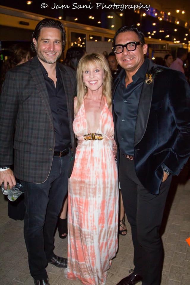 Erik & Kimberly Peterson with myself at Phoenix Fashion Week 2015