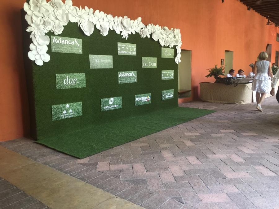 Step & Repeat at Cartagena Bridal Week 2015