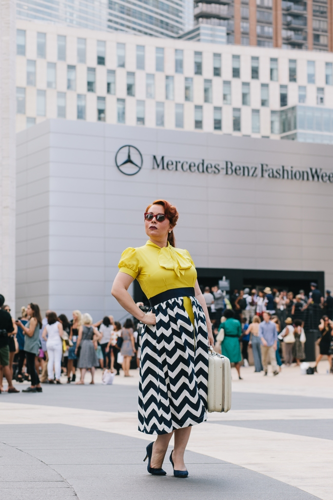 An event not to miss to any fashion aficionado, fashionista, fashion fan, or a fashion and style avid follower. New York Fashion Week, location: Lincoln Center, New York New York Fashion Week Hair and makeup by: Exclusive Stylist Dress & Style: First-Class Belongings