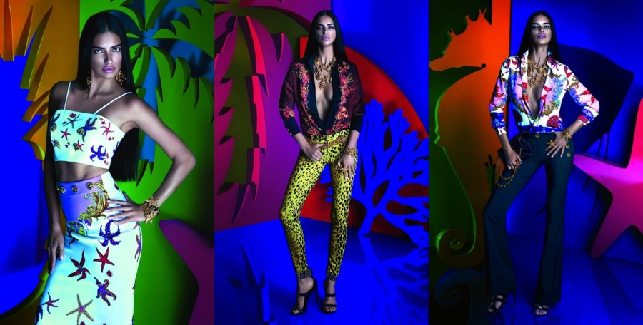 With a colorful background on geometric silhouettes and bronze skin coloring - the editorial campaign was seen all over the country and made a mark on the internet.