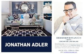 Oscar at Joanthan Adler Store
