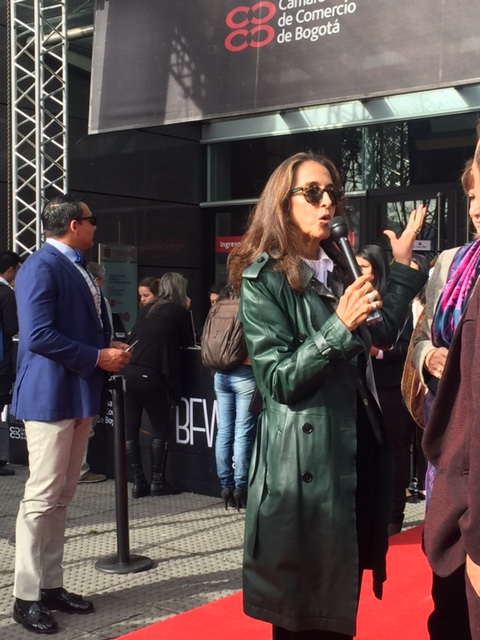 Pilar Castano - Fashion expert and personality in the red carpet