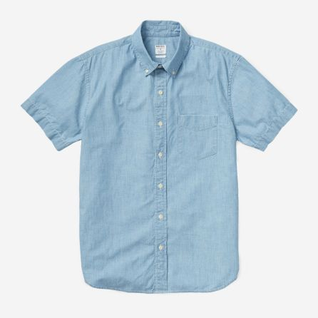 Riviera Short Sleeve - Chambray - BONOBOS