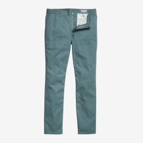 Washed Chinos - Garden Isles color