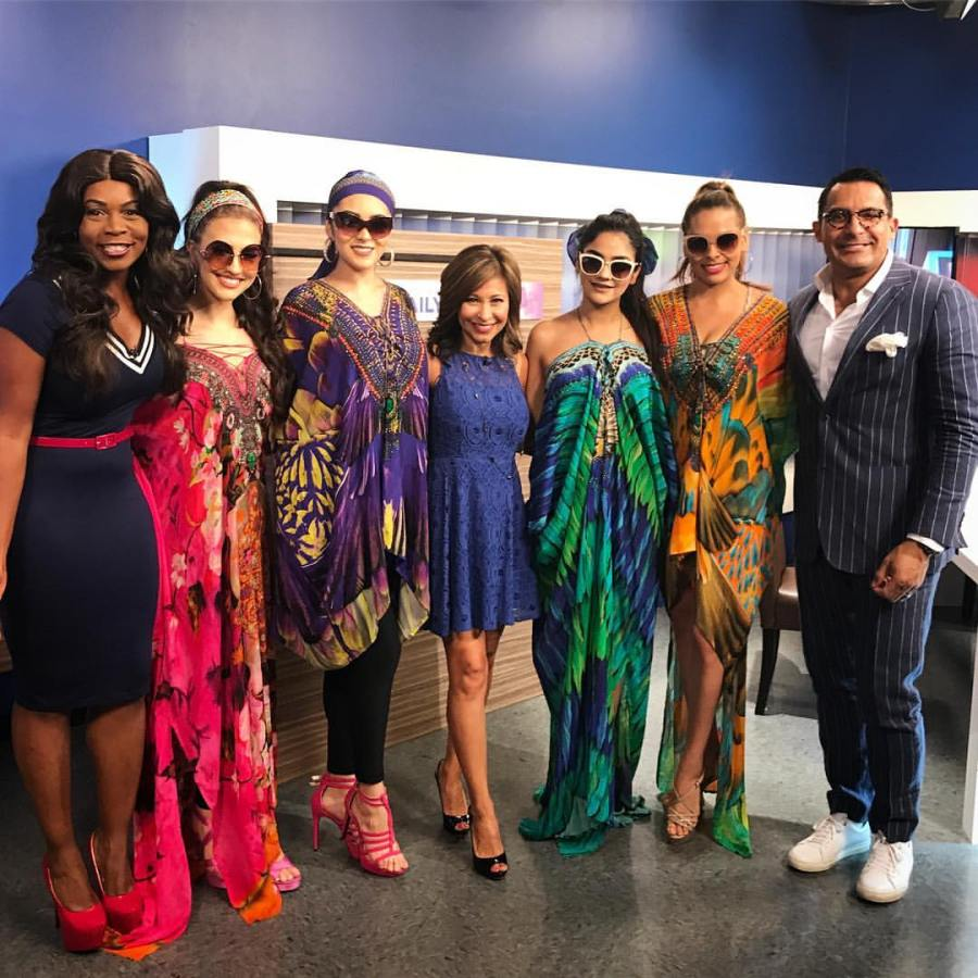 AZ DAILY MIX - AZ7 and Shahida Parides Kaftan and Turbans