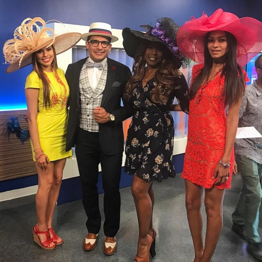 LIVE - KENTUCKY DERBY at AZ Daily Mix 2017 with hostess Danielle Williams